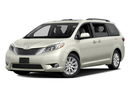 2017 Toyota Sienna Limited 7 Penger In Albany Ga Five Star Nissan Of